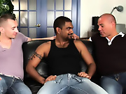 His first huge cock interracial gay masturbate