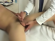 I was very shocked that the doctor would requisite to suck on my cock gay twink handjob