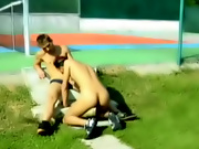 They weren't sure if they could go �all the way,�  guys peeing outdoors