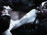 The tease him and seduce him... hurt him and make love to him all at once huge gay group sex - Gay Twinks Vampires Saga!