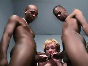 His first huge cock gay interracial dominatio