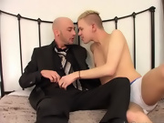 Rubbing their bodies and cocks together, soon the partners reach a simultaneous climax super hardcore gay porn