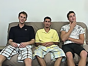 The day of the shoot I had Ricky go into the shoot room and take a membership on the couch, while the other guys were in the back leeway gay outdoor g
