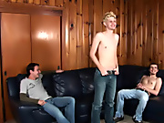 Wes was suspicious as at the end of the day as we suggested he slither out of his shirt and pants but he soon sucCUMbed to the scratch we offered him