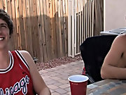Today I found the guys on the back porch patio area playing poker and drinking a scintilla group gay porn fucking at Broke College Boys!