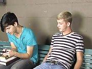 Kayden Daniels and Jae Landen have a big problem, they show up late to class and no one is there first anal gay at Teach Twinks