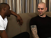 Jay was used to giving gay guys the business aspiration of his big ebony cock, so he was a  shocked when he came to do this hot shoot with Sam Swift a