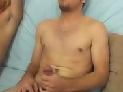Trying things the other way, I had Diesel return the favor to Ethan, and wanted to see how this straight boy would do sucking his very first cock gay