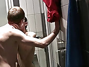 James peeked all about to see if anyone was around the locker  in front of sneaking in to snag a quick fuck with Andrew free pictures of nude boys