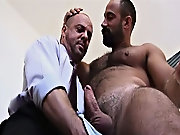 Carlo Cox arrives to give Butch his rental and is quickly invited in for a rub down nude muscle men having sex at Alpha Male Fuckers