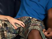 His first gay sex mini interracial gay