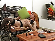 Aroused by arousing images from a magazine Agustin feels inescapable urge to nearing for his little crossdressing period male masturbation positions